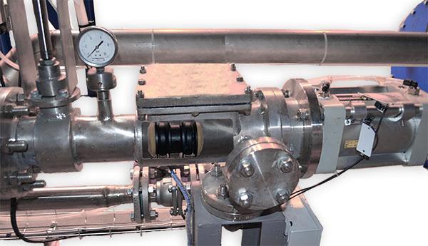 sistema limpieza de tuberias en fabrica de pinturas