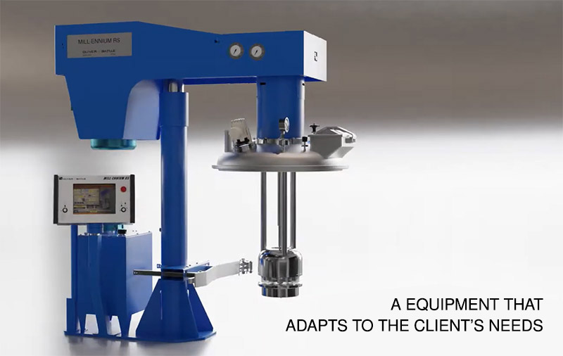 Paints and Coatings: basket milling