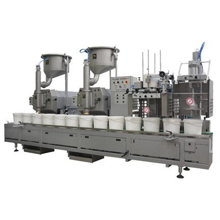 volumetric filling machine